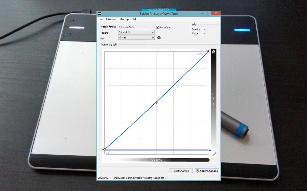 Tablet Tool Header
