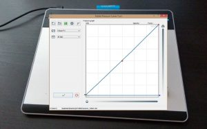 Tablet Pressure Curve Tool – Black Ink
